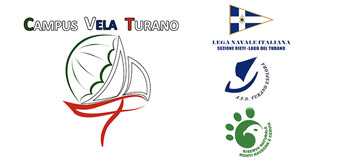 Campus vela Lago del Turano Logo